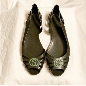 Gucci Jelly Marola Flat- Size 8